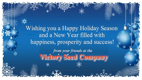 Season's Greetings from the Victory Seed Company!